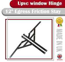 """12"""" egress friction stay 13mm stack window hinge fire escape"""