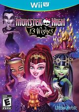 Monster High: 13 Wishes (Nintendo Wii U, 2013)