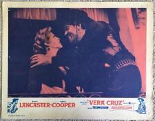 Burt Lancaster VERA CRUZ R1960s #3 Lobby Card 314