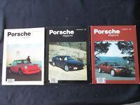 1987 Porsche Excellence 3 Issue 911 SC 928 951 Turbo 906 D'leteren 914 Brochure