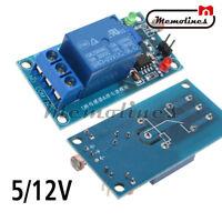 5/12V Photoresistor Relay Sensor Light Switch Module Detection Board Detector