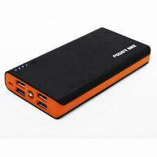 Power Bank Case Cover Enclosure w PCBA for 18650 Li-battery DIY Black Orange