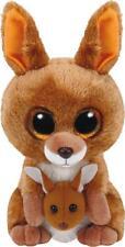 Ty 7137226 Stofftier Plüschtier Känguru Kipper 15 cm