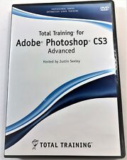 Total Training Adobe Photoshop CS3 Advanced DVD by Justin Seeley