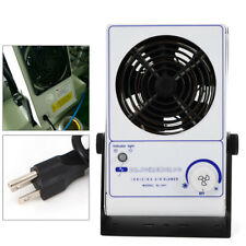 60Hz 110V Ac Adjustable Ionizing Air Blower Fan Ion Anti-Static Cleanroom 3kg