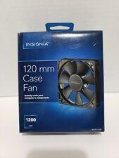 Insignia - 120mm Case Cooling Fan - Black