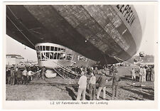 Germany Graf Zeppelin 1929 Round the World Series Photograph After the Landing