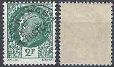 France Pre-obliterate Preo Pétain N°86 Neuf Luxe MNH