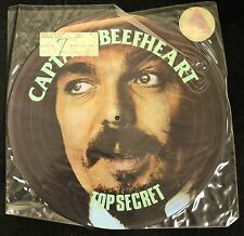 PICTURE DISC Captain Beefheart JEM 4 Top Secret