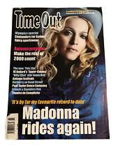 Madonna Time Out London Magazine September 2000 Music Mirwais