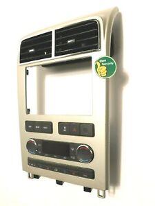 ✅ 2007-2010 Lincoln MKX Radio Dash Bezel Trim Surround Climate Controls Temp oem