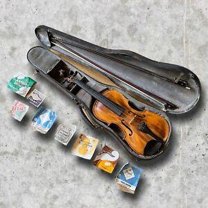 Vintage Antique German Stainer Violin c1900 Grafted Scroll 4/4