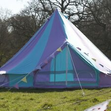 Boutique Camping 5m Harlequin Bell Tent With Zipped in Ground Sheet