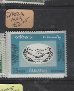 PAKISTAN (P2203B)  ICY  UN  SG 222-3   MOG