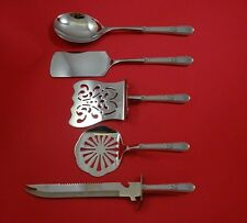 Adoration by 1847 Rogers Plate Silverplate Brunch Serving Set 5pc HHWS  Custom