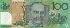 Australian $100 Dollar Polymer Bank Note Uncirculated UNC Valid Currency