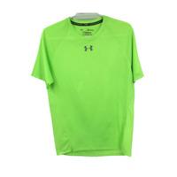 Under Armour Mens Short Sleeve Athletic Running T Shirts Green Size Medium