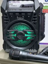 bluetooth speaker Angel 4 With Mic Fm Radio USB 700 Watts 800mAh LED Light