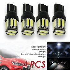 4pcs T10 10 SMD W5W 194 168 LED Canbus Error Free Side Wedge Light Lamp Bulb