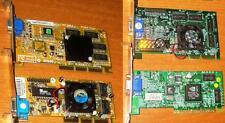 scheda video TNT2  M64 Pro  32 Mb AGP, varie marche