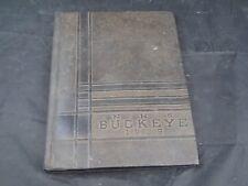 1935 NAPOLEON HIGH SCHOOL Ohio Original YEARBOOK Annual The Buckeye