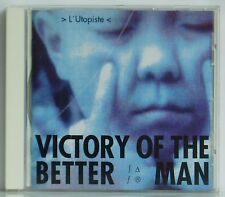 CD L'Utopiste  Victory of the better Man  CMP Records 1991