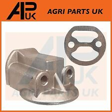 Leyland 154 Nuffield 4/25 Tractor Spin on Oil Filter Head & Mounting Gasket