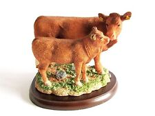 Limousin Cow & Calf Figurine - Border Fine Arts Studio A26090 2014