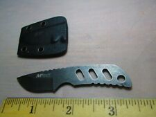 Small MTech USA MT-20-31 Neck Fixed Blade Full Tang Handle Knife W/Sheath