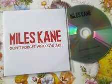 Miles Kane – Don't Forget Who You AreSony Music  Columbia  UK Promo CD Single
