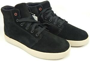 Chaco Ojai Size 7 M EU 38 Women's Suede Mid-Top Lace-Up Sneakers Black JCH108306