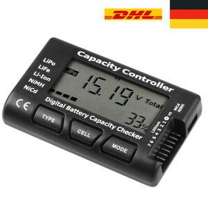 Digital Battery Capacity Tester Voltage Checker Controller Tester für LiPo NiMH