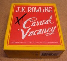 The Casual Vacancy by J. K. Rowling Audio Book on 15 CD Unabridged w/ Slip Case