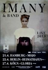 IMANY - 2013 - Tourplakat - In Concert - Shape of a broken Heart - Tourposter