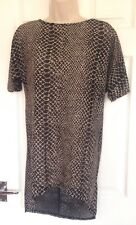 RIVER ISLAND Ladies knitted top size 8