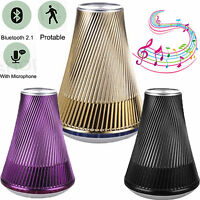 Wireless Super Bas Stereo Bluetooth Speaker Handsfree Support TF Card MP3 Player