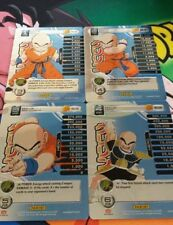 Dbz Panini Tcg Krillin Hi Tech level 1-4 Premier Starter MP Main Personality!