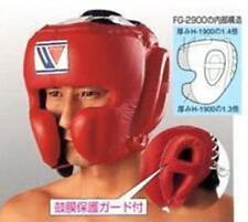 Winning Head Gear FG-2900 Face Guard Type Boxing Red/Black/Blue/White M/L Japan