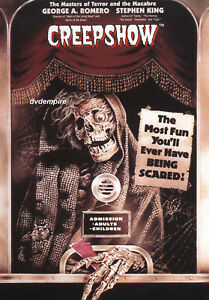 Creepshow DVD Part 1 Stephen King New and Sealed Australian Release