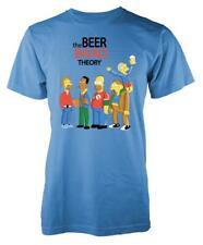 The Beer Band Theory Big Bang Yellow Cartoon Mashup Adult T Shirt