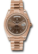Rolex Day Date President 40mm 18kt Rose Gold Chocolate Roman Dial 228235   3255