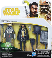 Figurines star wars E8 : Garde de Kessel et Lando Calrissian Force Link 2.0