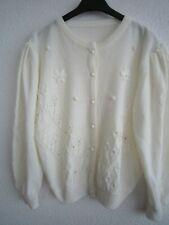 Trachten Damen Jacke Strickjacke Strick Baumwolle Gr.48