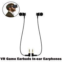 2x VR Ohrhörer In-Ear-Kopfhörer Kabelgebundene für Oculus Quest VR-Headset LCEU