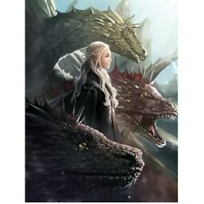 GAME - OF - THRONES  _ FULL _ DIAMOND _ EMBROIDERY _  CROSS - STITCH