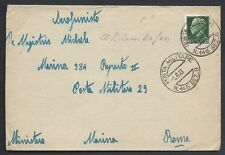 POSTA MILITARE 1943 Lettera da PM 145 Sez. B a PM 29 (MC)