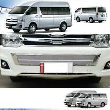 Chrome Front Bumper Net Grille Grill V.2 For Toyota Hiace Commuter 2013 14 15
