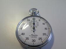 Rare Vintage MINERVA MAJEX Swiss Made Split Stopwatch Good Working Order