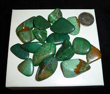 Jasper Green Tumbled Chakra Stones 44 grams