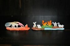 New-Ray Wildlife Anteater and Forest Animals 1993 Animal Toy Figures